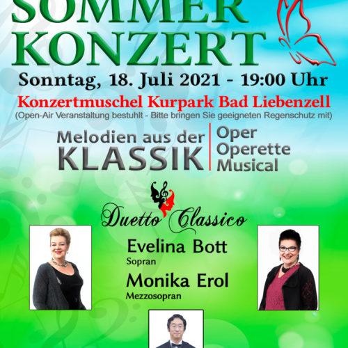 Sommerkonzert - Kultursommer 2021